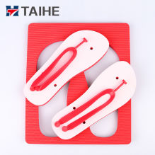 a92839bb97f0 Rainbow Sole White Rubber Blanks Sublimation Flip Flops