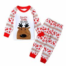 Toddler Cute Christmas Leggings Sets Long Sleeve Outfits 2 Piece Pajamas for Kids