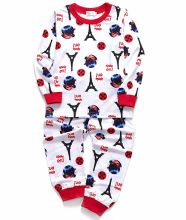 Infant Garment Cotton Long Pajama Set Little Kids Sleepwear Clothes