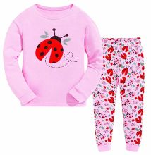 Children Apparel Garments Pajamas Sets Toddler Long Sleeve Outfits