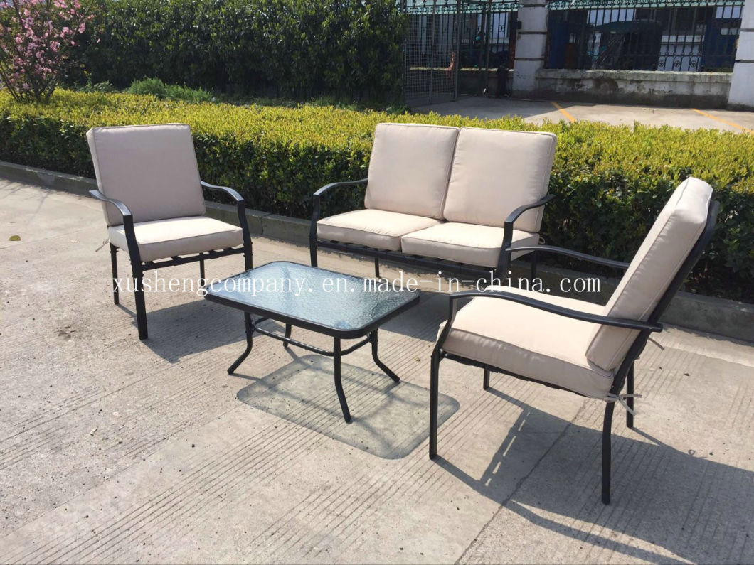 Awesome China Modern Dining Table Set With Cushion Steel Sofa Set Outdoor Patio Garden Furniture Frankydiablos Diy Chair Ideas Frankydiabloscom