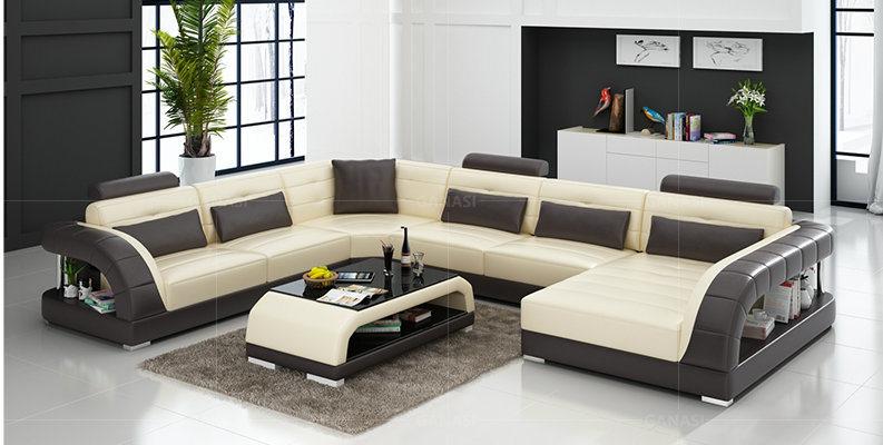 Euro Modern U Shape Sofa Furniture