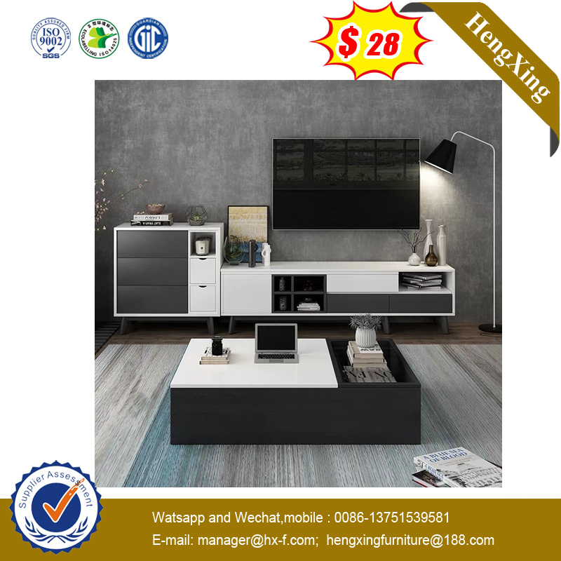 China Wholesale Home Livingroom Melamine Wooden Tv Table Storage