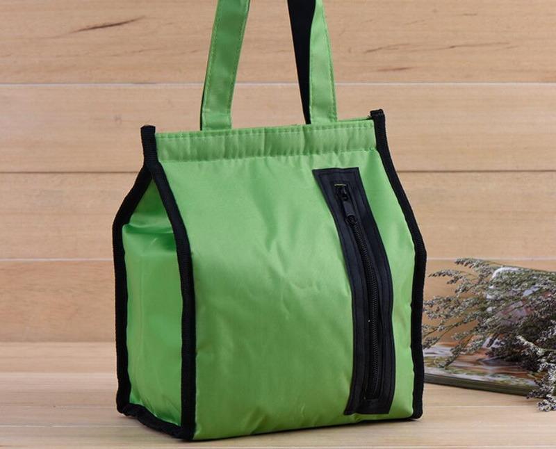 Food Delivery Thermal Wine Cooler Bag