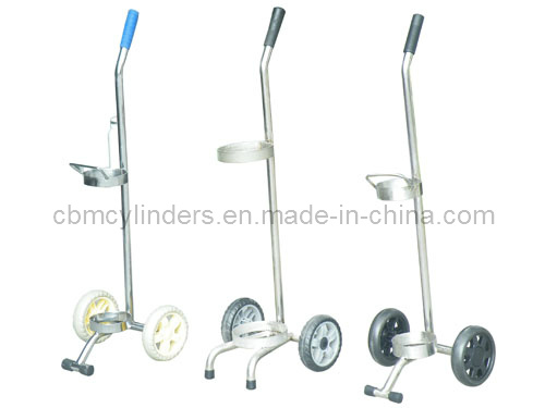 Portable Oxygen Cylinder Trolleys for Small Gas Cylinders
