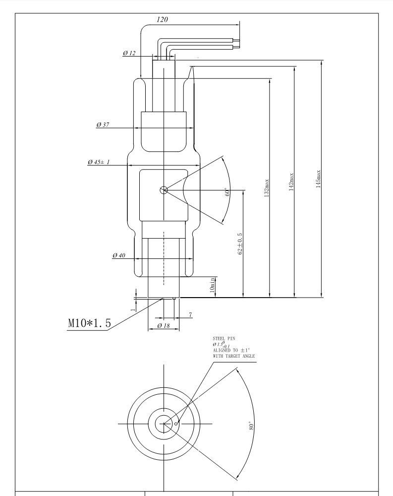 Hbj120 120kv 0.8 X-ray Tube for Security Check