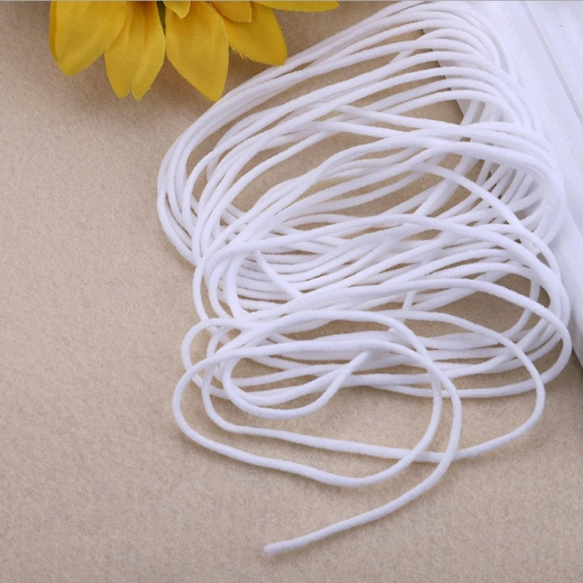 China In Stocks 3mm Round Elastic Cord For Face Mask Twine Rope From China On Topchinasupplier Com
