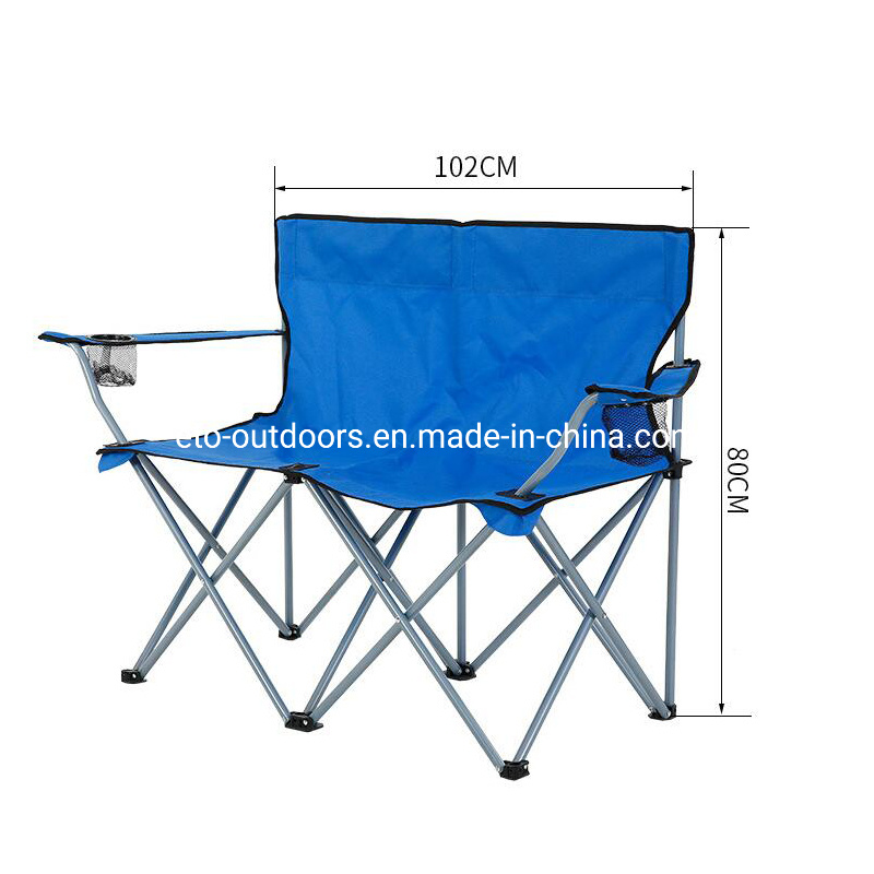 Fine China Customzied Double Seat Camping Chair Folding Chair Pabps2019 Chair Design Images Pabps2019Com