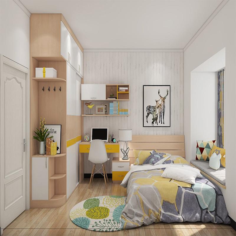 China E E Living Farmhouse Style Modern Simple Kids Youth Bedroom