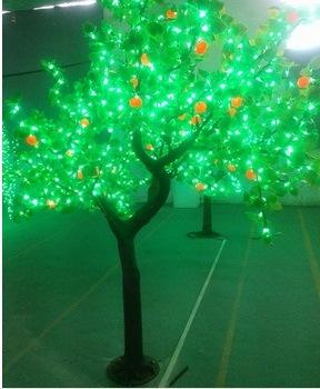 led simulation tree light christmas tree lamp artificial trees landscape led decoration tree light