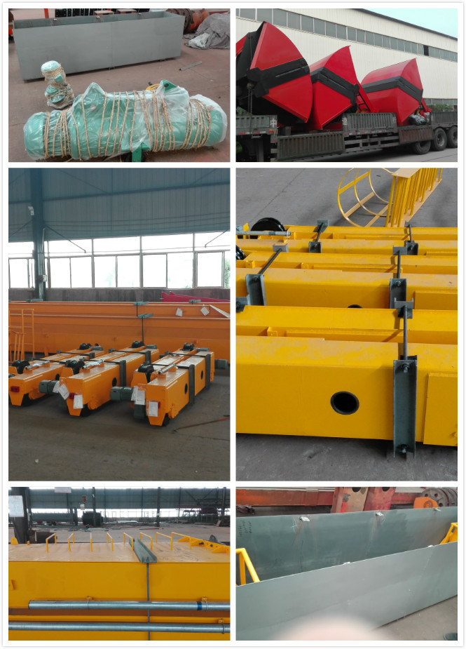 Electric Hoist Semi-Gantry Crane for Plants