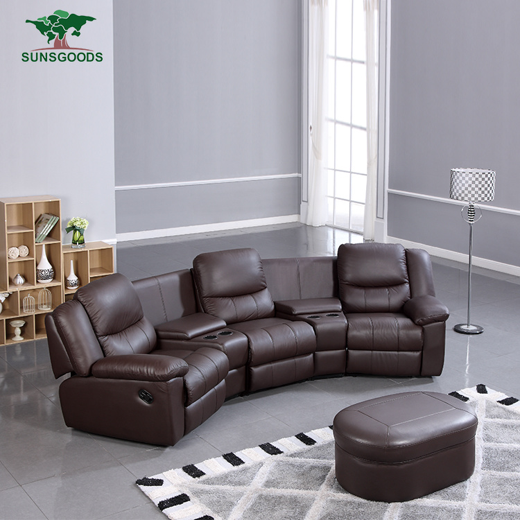 China 3 Seater Electric Recliner Home