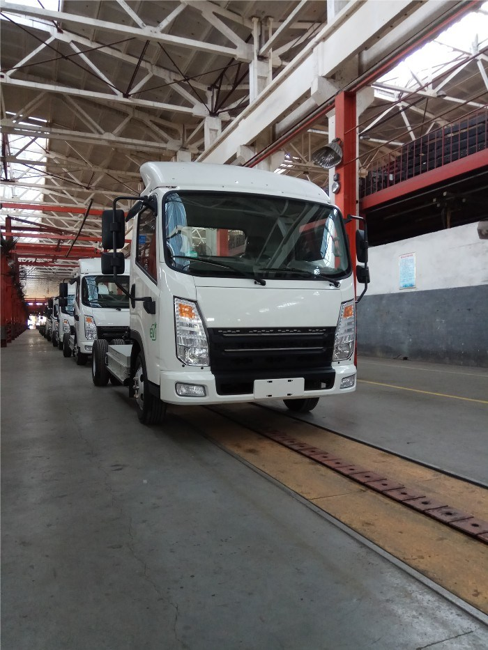 2 Tons Electric Truck Single Row Cabin Electric Truck