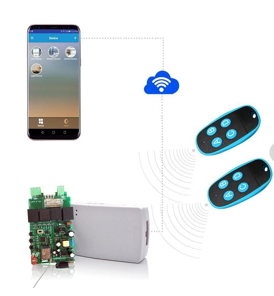 China Yet866 Rolling Shutter Receiver Connect Wifi App Hot