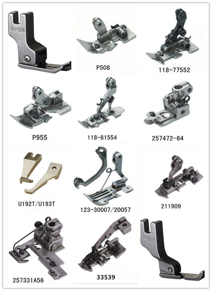 China Industrial Sewing Machine Parts Of Presser Foot China Sewing