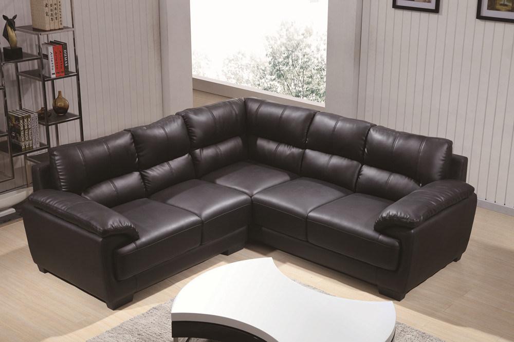 Modern L Shape Leather Sofa Lz371b
