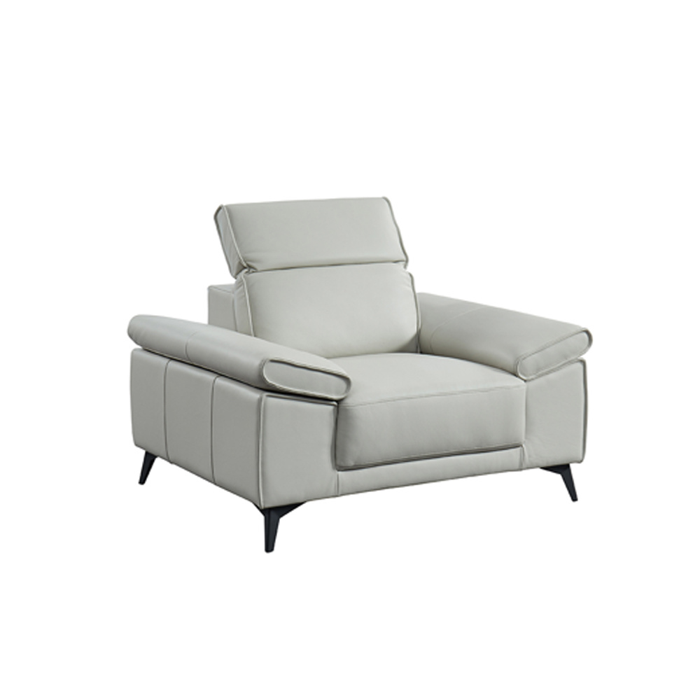 White Leather Sectional Sofa china american style home furniture white leather sectional