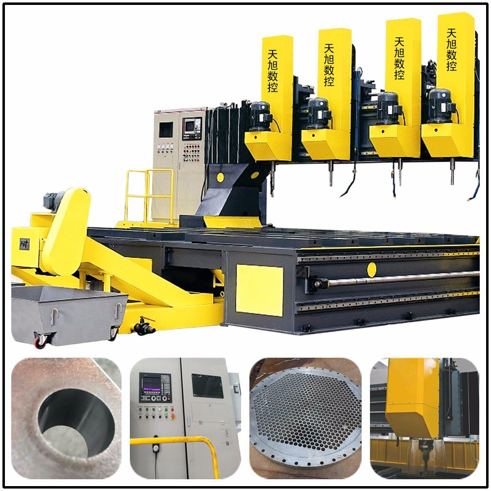 Tpld2020 Manufacturer CNC Drilling and Milling Machine for Steel Plates