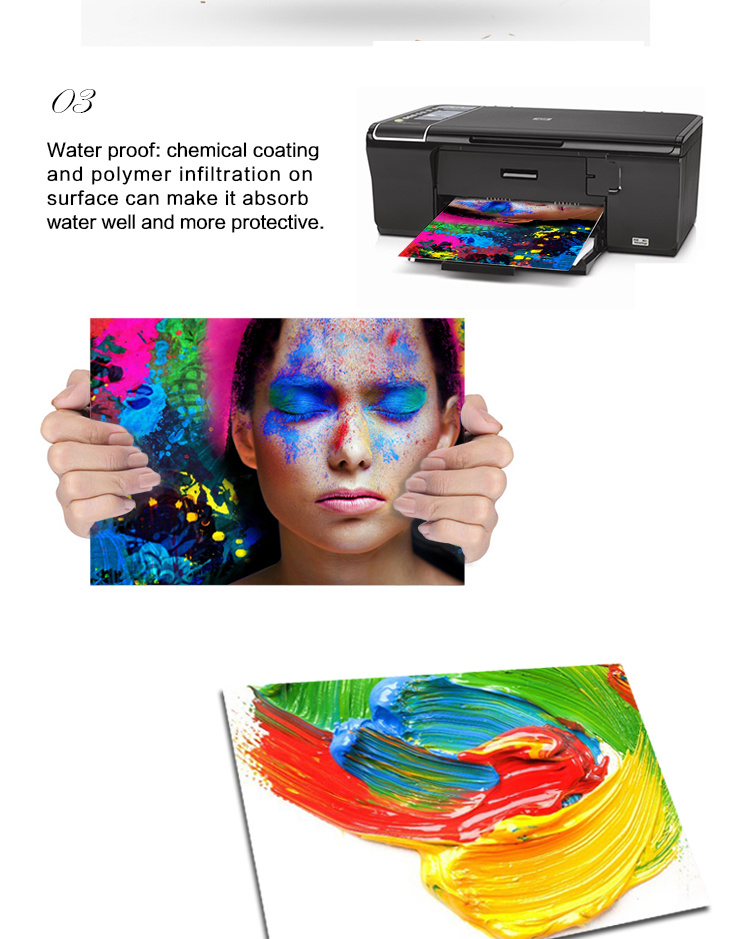 Hot Selling Glossy Inkjet Photo Paper Thermal Photo Paper
