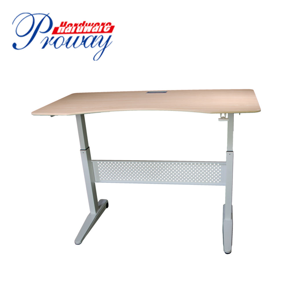 China Hydraulic Height Adjustable Standing Office Desk with