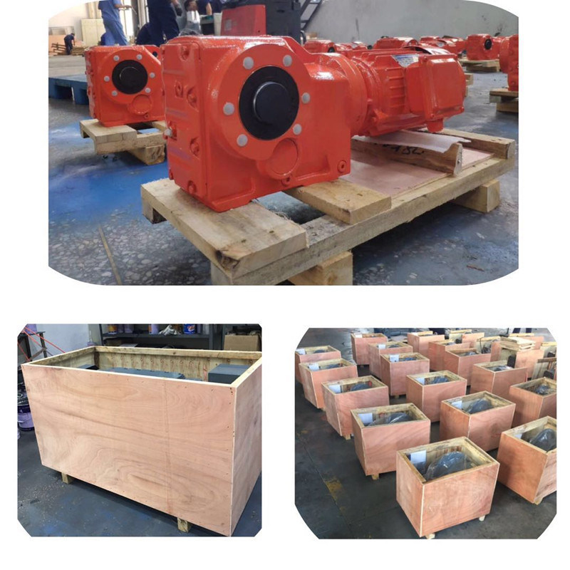 Hot Sale Parallel Helical Gear Speed Reducer Gearbox