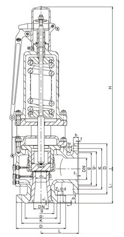 ASME Sec I Standard High Performance Steam Safety Valve (NFGS)