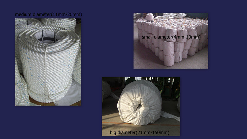 Polyester Cover 12 Strand Synthetic UHMWPE/Hmpe Nylon Marine Towing Rope for Mooring Offshore