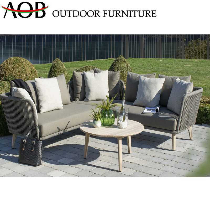 China Garden Sofa Sets With Round Table