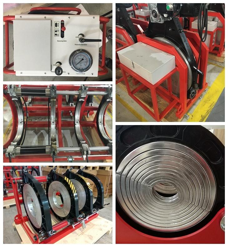 Plastik Boru Alın Füzyon Kaynak Makinesi (SHD630)