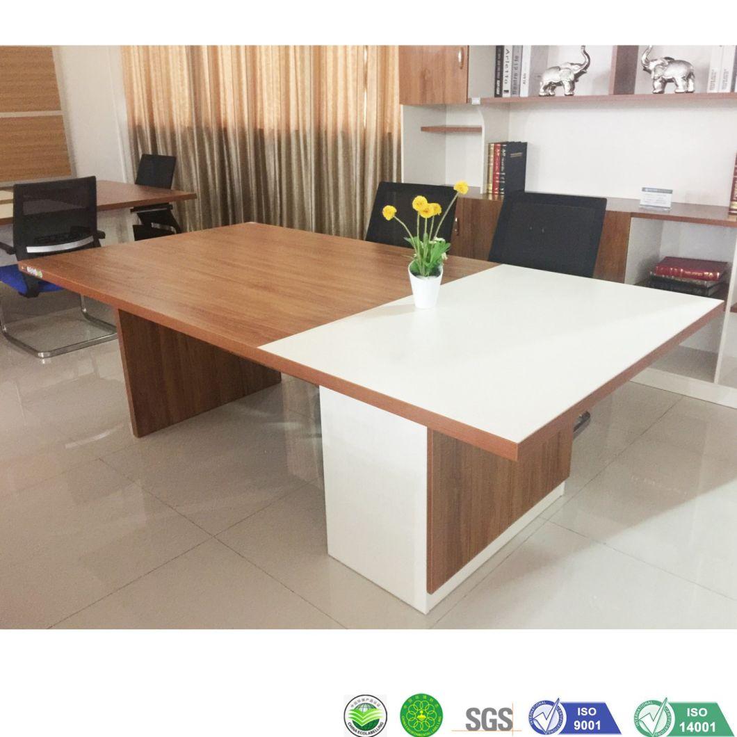 China Small Meeting Table Melamine