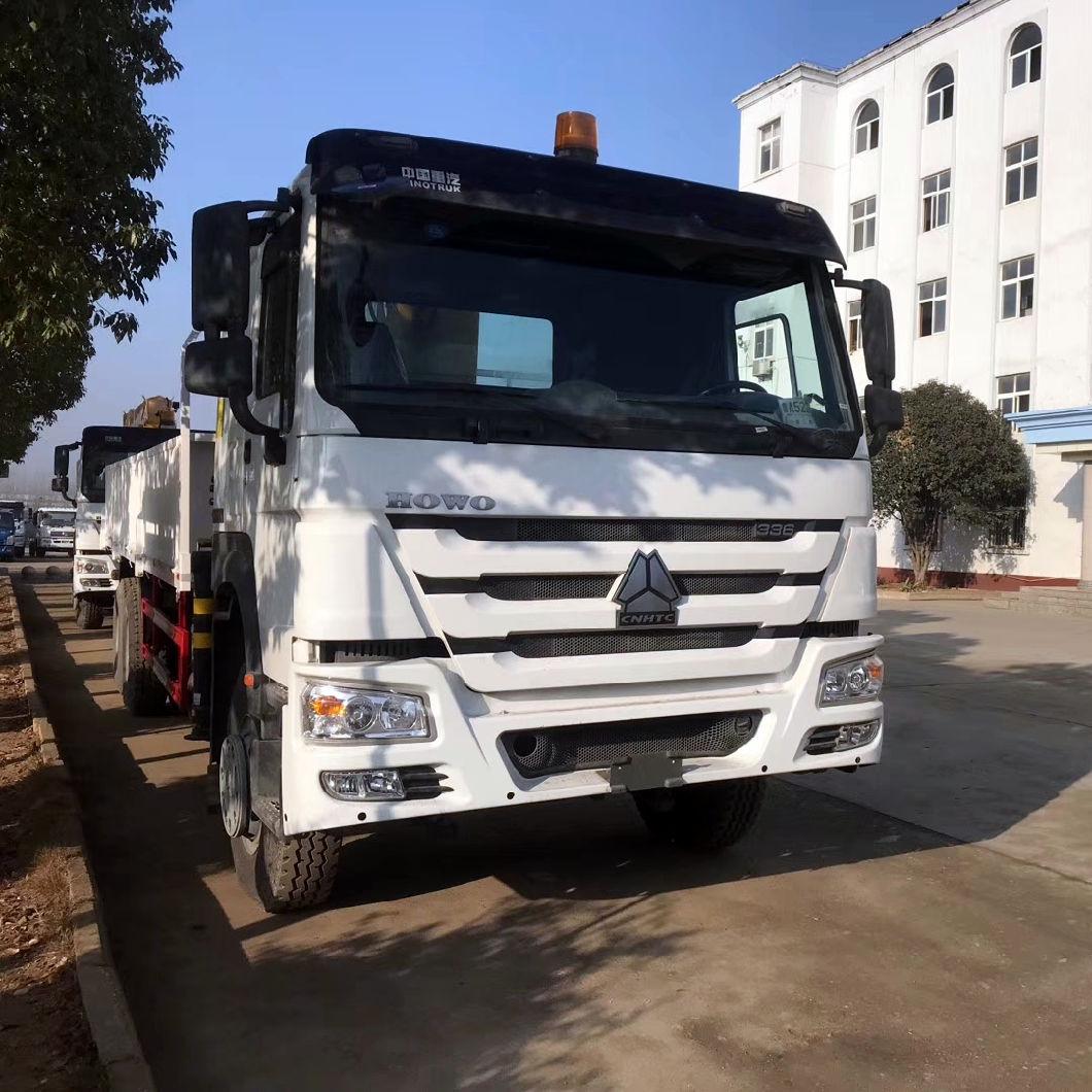 China Sinotruk Howoe Lorry Mounted 15 Ton Truck Crane
