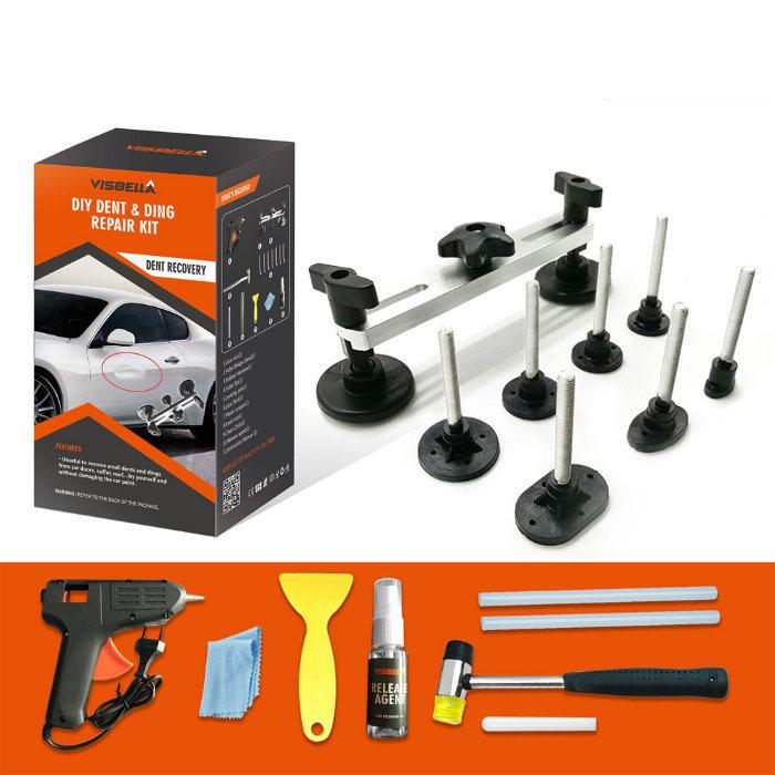 Visbella DIY Car Dent Removal Repair Tool Kit for Automobile