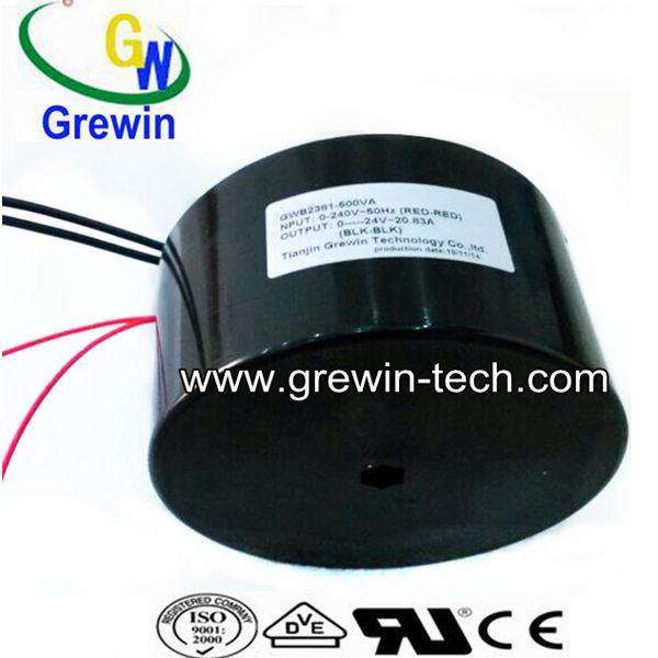 500V Waterproof Power Toroidal for Garden Light