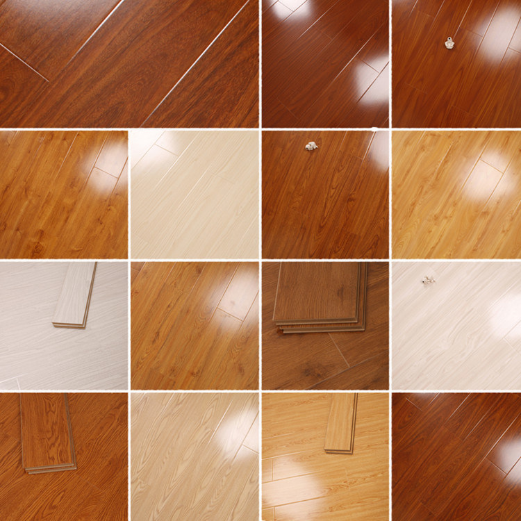 China German Technology Hdf Moasic Laminate Laminated Flooring