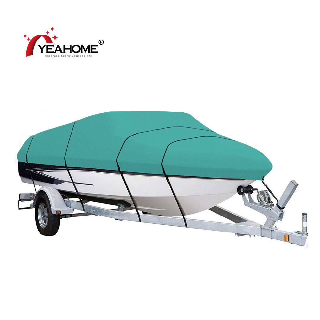 Heavy Duty Boat Cover Speedboat Waterproof Firm Anti-UV