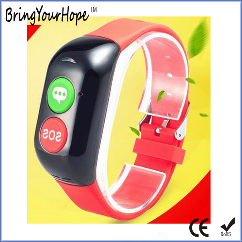 Heart Rate Mo<em></em>nitoring GPS Sos Smart Bracelet for Elderly (XH-ESB-003)