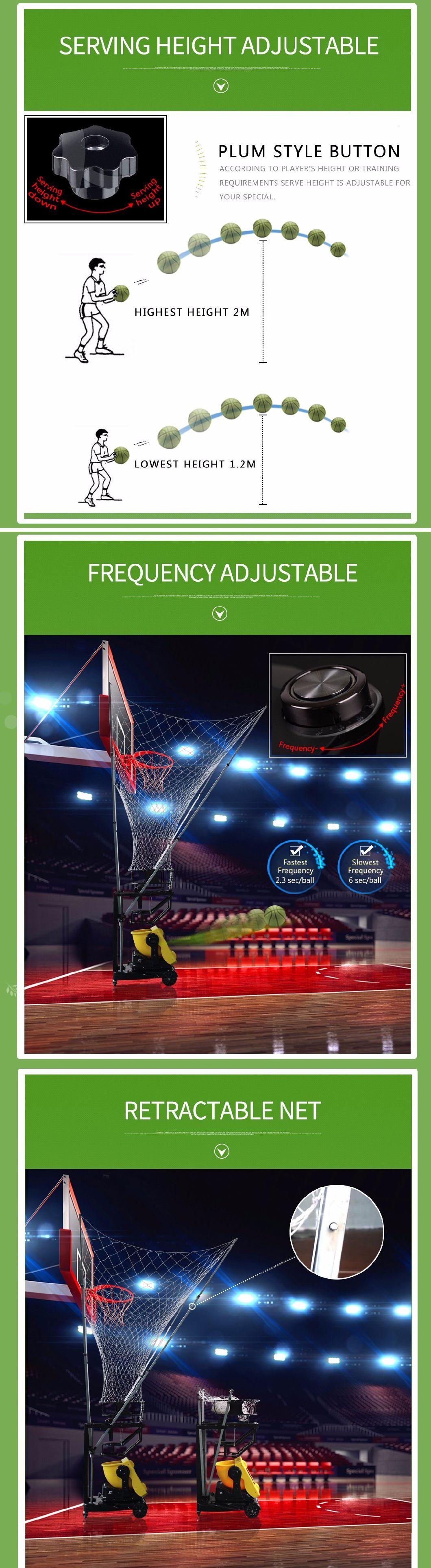 Siboasi Model (S6829) Common Basketball Machine Shooting Equipment