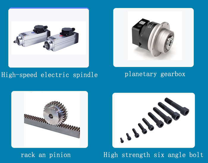 2.2kw Air Cooling Spindle Motor for Woodworking CNC Router (GDZ93*82-2.2)
