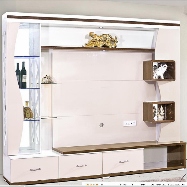 Modern Tv Wall Unit Simple Cabinet