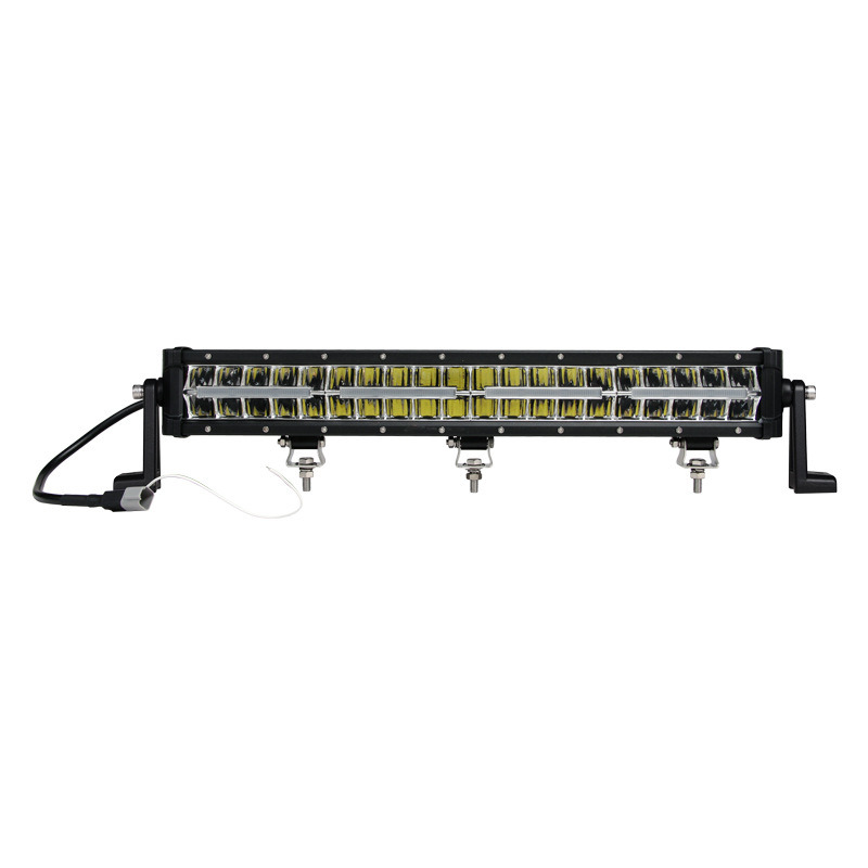 Waterproof IP69K 240W 42 Inch 2 Row LED Light Bar Amber White Blue Color 4X4 Offroad