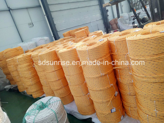 Equal Dsr Quality PP Rope for Tug Boat Mooring Rope Fiber Rope
