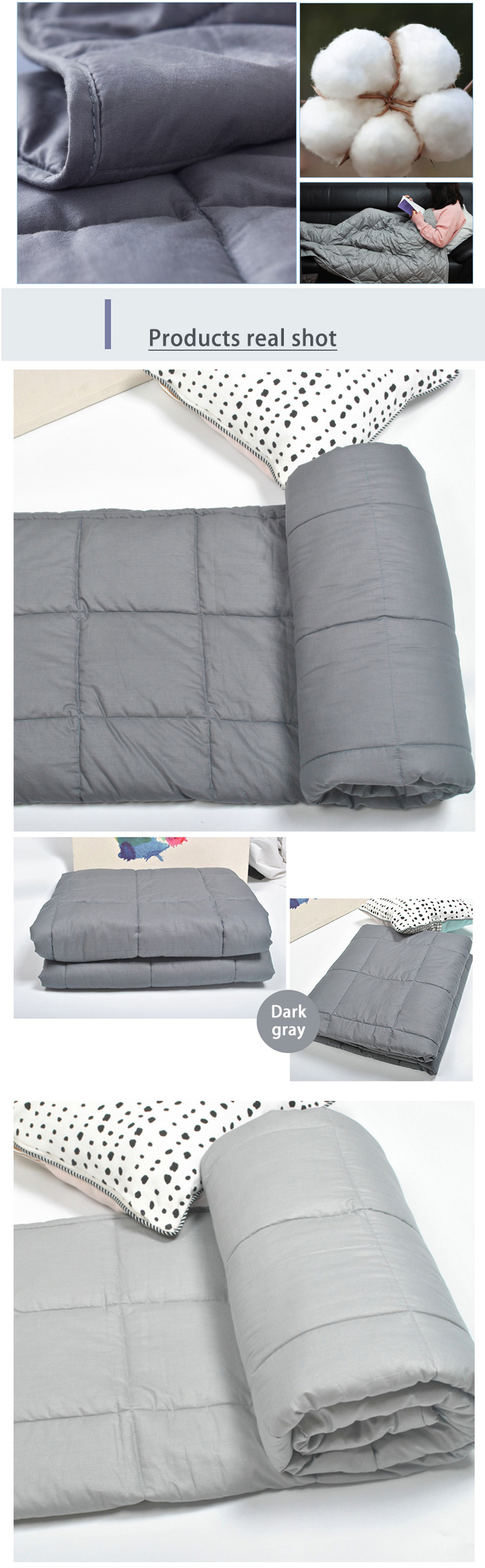 Custom Adult's Gravity Sensory Weighted Blanket