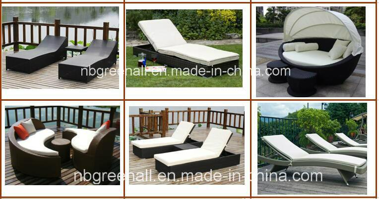 Outdoor Double Rattan Sun Lounge