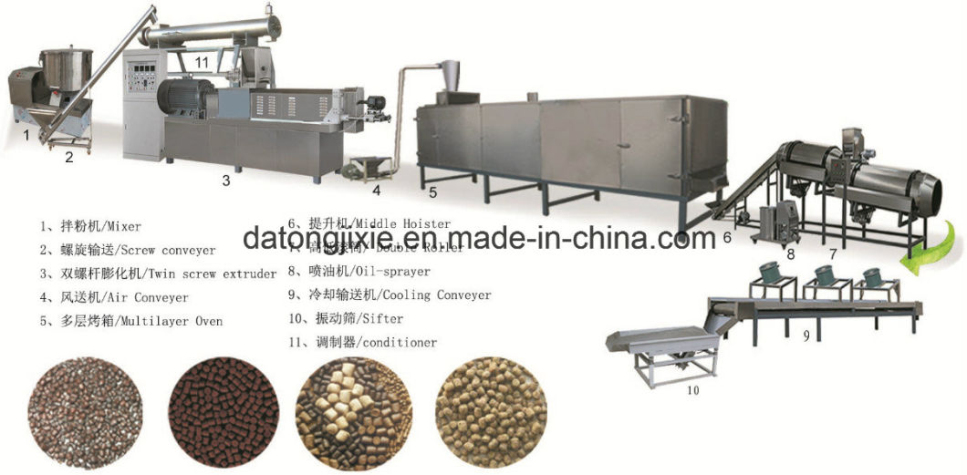 Aquatic Fish Shrimp Food Feed Pellet Making Machine