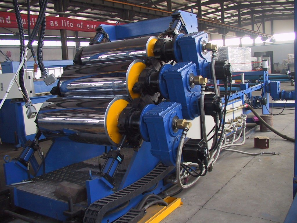 PE PP ABS Plastic Board Sheet Extrusion Line