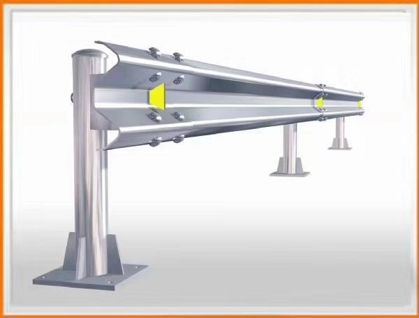 Rich Waveform Galvanized Highway Guard Rail Guardrail Plate Q345 Grade