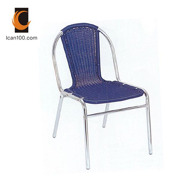 UV Resistant Leisure Design Patio Furniture Wedding me<em></em>tal Plastic Rattan Outdoor Garden Chairs