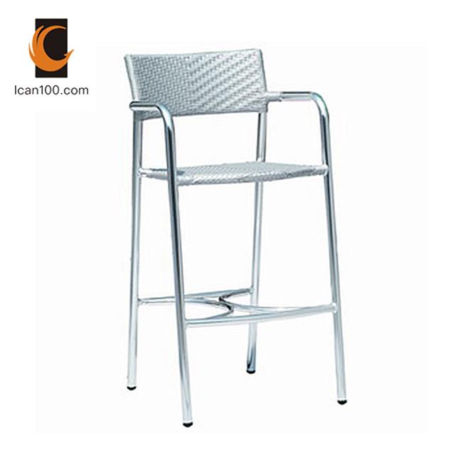 Super China Light Weight Restaurant Furniture Outdoor Garden Hotel Designer Metal Aluminum Bar Stool Chair Squirreltailoven Fun Painted Chair Ideas Images Squirreltailovenorg