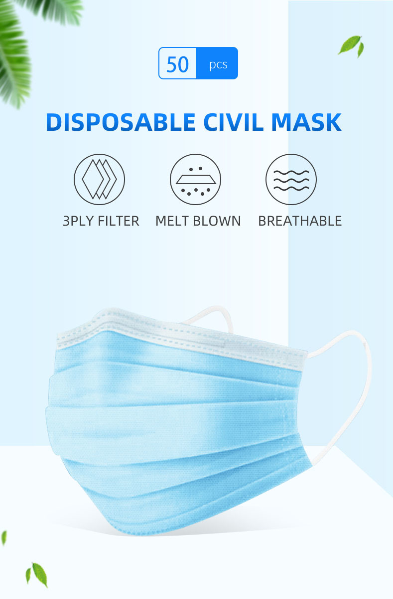 Direct Sales Manufacturers Civilian Mask for Personal