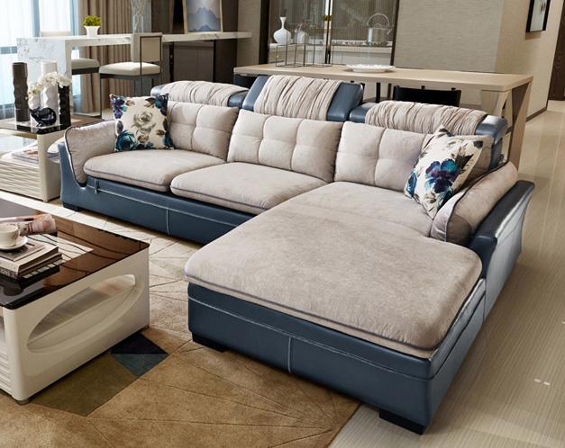 China Modern Soft L Shaped Sofa High